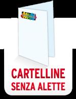 B.CARTELLE SENZA ALETTE