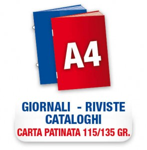 icona riviste A4 (115-135gr.)